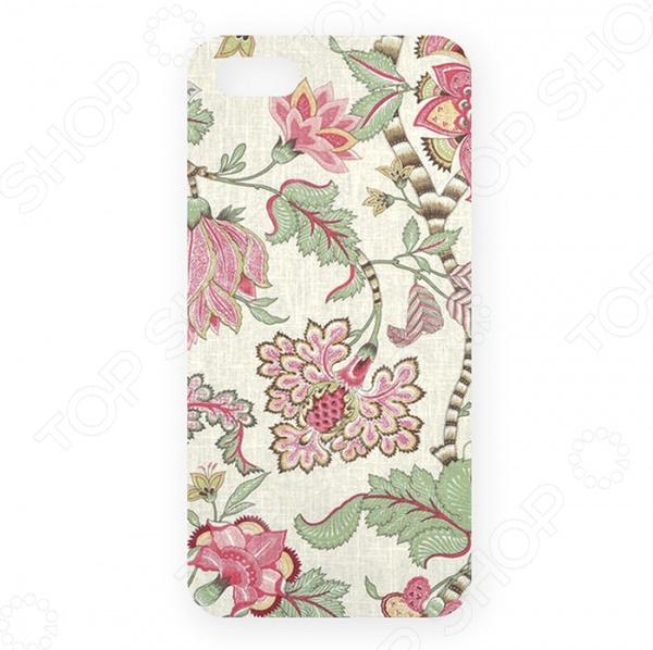 Чехол для iPhone 5 Mitya Veselkov «Розовые лотосы» чехол для iphone 5 mitya veselkov газировка
