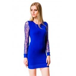 фото Туника Mondigo 10030. Цвет: темно-синий. Размер одежды: 46