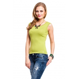 фото Майка Mondigo 326. Цвет: зеленый. Размер одежды: 46
