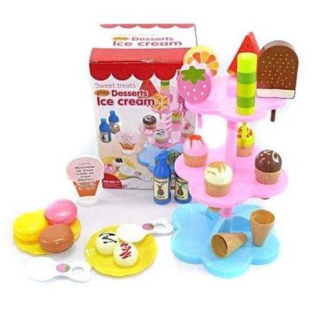 Купить Игровой набор для ребенка Shantou Gepai «Продукты для игры в кафе» 628529