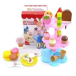 фото Игровой набор для ребенка Shantou Gepai «Продукты для игры в кафе» 628529