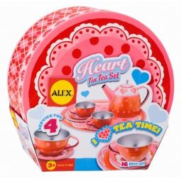 фото Чайный набор в чемоданчике Alex «Сердце»