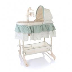 фото Кроватка-люлька детская Jetem Sweet Dream + mobile 3в1. Цвет: зеленый