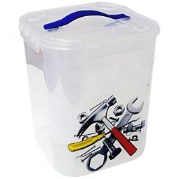 Купить Контейнер для хранения мелочей с вкладышем IDEA «Деко. Инструменты»