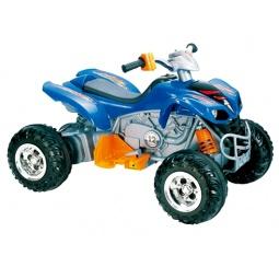 фото Квадроцикл детский электрический Пламенный Мотор 86085. Цвет: синий