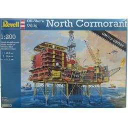 Купить Сборная модель нефтяной платформы Revell 08803R «Северный корморант»