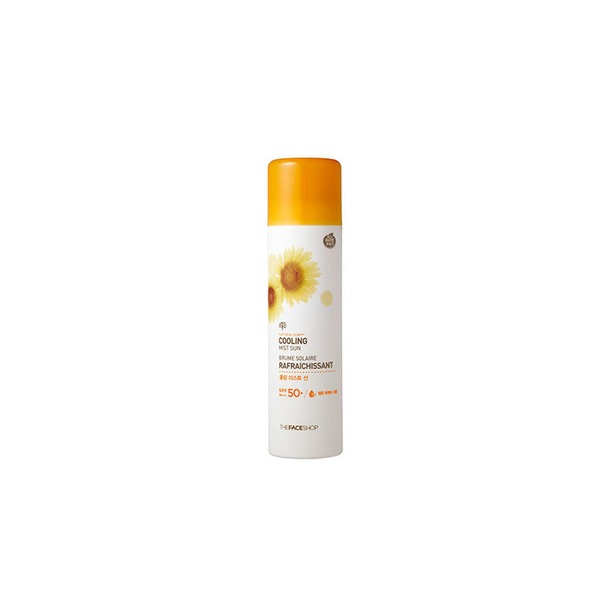 фото Спрей солнцезащитный для тела THE FACE SHOP Natural Sun SPF50+ PA+++