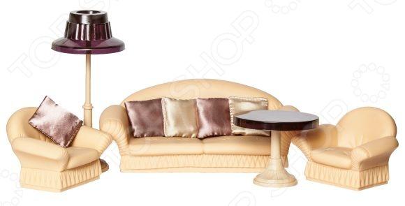 Набор мебели игрушечный Огонек «Коллекция» С-1302