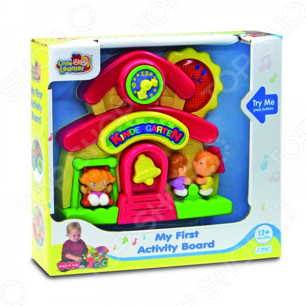 фото Игрушка развивающая Happy kid «Детский сад», Другие развивающие игрушки и игры