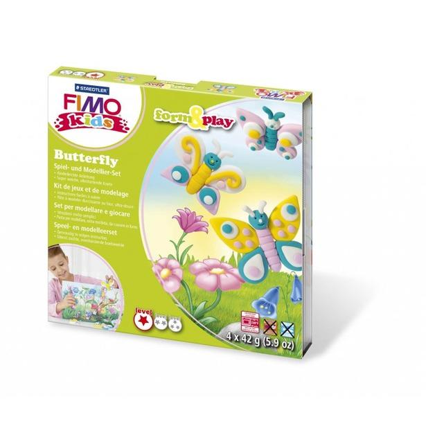 фото Набор для создания украшений детский Fimo Kids «Бабочка»