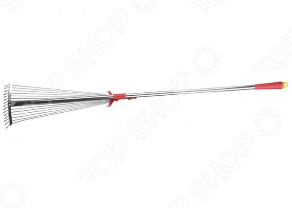 Грабли веерные Grinda 8-421867_z01 веерные металлические грабли truper 14328