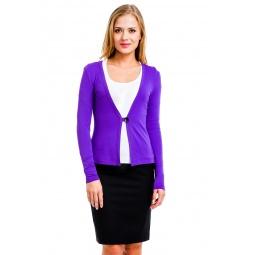 фото Жакет Mondigo 426. Цвет: фиолетовый. Размер одежды: 46
