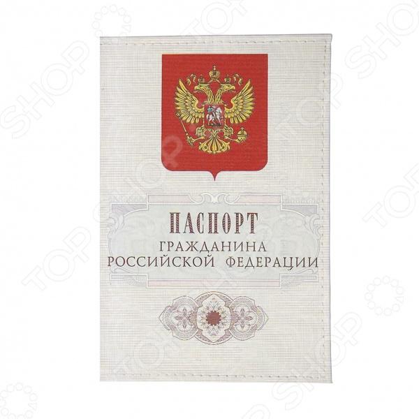 Обложка для автодокументов Mitya Veselkov «Гражданин РФ»