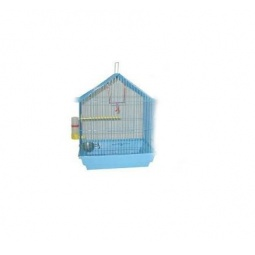 фото Клетка для птиц ZOOmark «Домик». Высота: 43 см