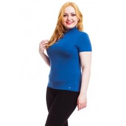 фото Водолазка Mondigo XL 037. Цвет: джинсовый. Размер одежды: 48