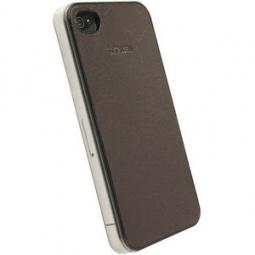 фото Накладка Krusell DONSo UnderCover для iPhone 4. Цвет: коричневый