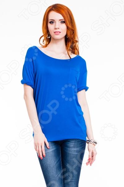 Футболка Mondigo 8742. Цвет: синий