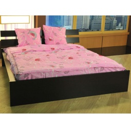 фото Комплект постельного белья Samy torino Цветочный двор. 2-спальный