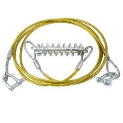 Купить Трос буксировочный с амортизатором FK-King Tools TC-014-3