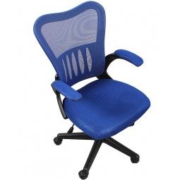 фото Кресло офисное College HLC-0658F. Цвет: синий, черный