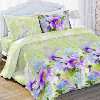 Комплект постельного белья Любимый дом «Фиалка» цена