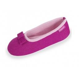фото Тапочки-балетки Isotoner 93186. Цвет: розовый