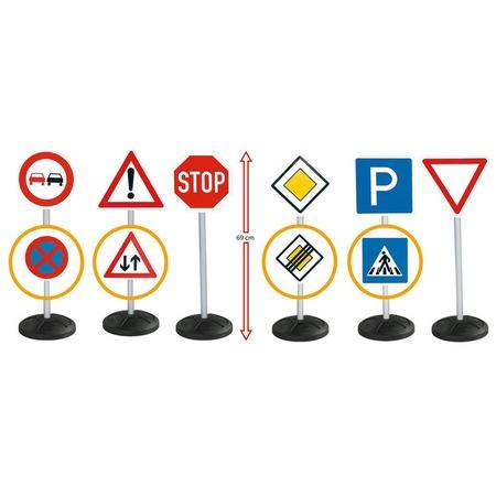 Купить Набор игрушечных дорожных знаков BIG 1198