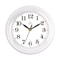 Купить Часы настенные Вега П 6-7-19 Классика белые арабские