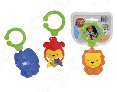цена Погремушка-подвеска Simba «Животные» В ассортименте