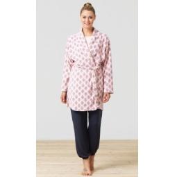 фото Халат BlackSpade 5710. Цвет: розовый. Размер одежды: L/XL