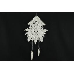 Купить Елочное украшение Crystal Deco «Часики»