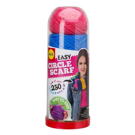 Купить Набор для вязания спицами Alex «Круговой шарф»