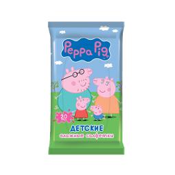 фото Салфетки влажные для детей Peppa Pig Mix. В ассортименте