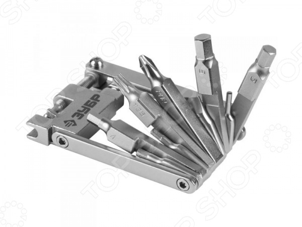 Набор инструментов для обслуживания велосипеда Зубр «Эксперт» 27428-H16