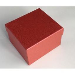 фото Коробка подарочная Феникс-Презент «Алый». Размер: S (9х9,5 см). Высота: 6 см