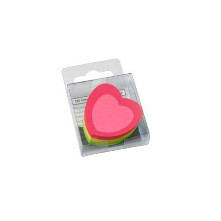 Купить Блок-кубик для записей Info Notes «Сердечко»