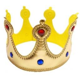 фото Головной убор маскарадный Новогодняя сказка «Корона»
