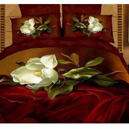 фото Комплект постельного белья Buenas Noches Fransuaza. Satin Fotoprint. 2-спальный
