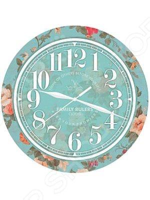 Часы настенные Вега П 1-239/7-239 «Розочки» nord 239 7 010