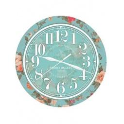 фото Часы настенные Вега П 1-239/7-239 «Розочки»