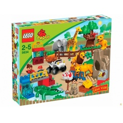 фото Конструктор LEGO Кормление в зоопарке