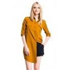 Фото Рубашка Mondigo 5222. Цвет: горчичный. Размер одежды: 46
