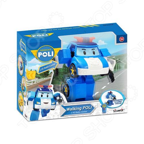 Игрушка радиоуправляемая Poli «Робот-трансформер Поли» 83090Другие радиоуправляемые игрушки<br>Игрушка радиоуправляемая Poli Робот-трансформер Поли 83090 - удивительный робот-герой, который обязательно понравится вашему малышу. Эта полицейская машинка выполнена по мотивам популярного мультфильма Робокар Поли и полностью копирует своего героя - полицейского Поли. Корпус робота выполнен из прочного и качественного пластика, поэтому малыш сможет с ней играть, не боясь её сломать или испортить. Машинка может легко трансформироваться в настоящего робота. Игрушкой можно управлять при помощи небольшого пульта, который имеет удобную панель управления. С этим нехитрым приспособлением справится даже самый маленький член семьи. Особенности радиоуправляемой игрушки Poli Робот-трансформер Поли 83086:  управляется в форме работы и машины;  удобная форма машинки, которая позволяет малышу легко управлять ею вручную;  качественные материалы, совершенно безопасные для детского здоровья;  яркая расцветка позволит развить у малыша цветовое восприятие;  мелкие детали способствуют развитию мелкой моторики рук, внимательности и логики. Подарите вашему малыше несколько часов увлекательной игры с радиоуправляемой игрушкой Poli Робот-трансформер Поли 83090!<br>