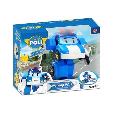 Купить Игрушка радиоуправляемая Poli «Робот-трансформер Поли» 83090