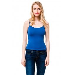 фото Майка Mondigo 551. Цвет: джинсовый. Размер одежды: 42