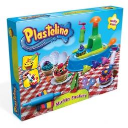 фото Набор пластилина игровой Plastelino «Кондитерская»