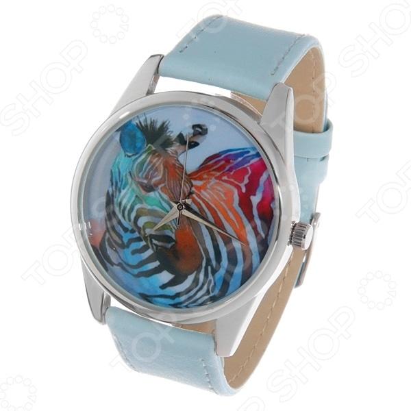Часы наручные Mitya Veselkov «Радужная зебра» Color часы наручные mitya veselkov райский сад color