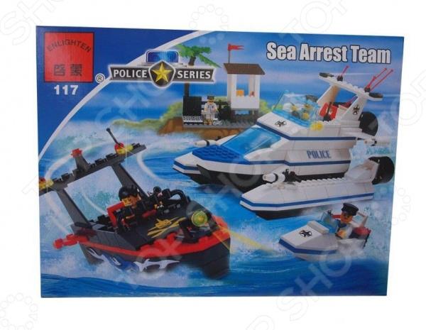 Конструктор игровой Brick Sea Arrest Team цена