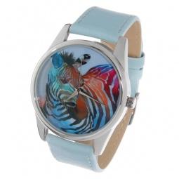 фото Часы наручные Mitya Veselkov «Радужная зебра» Color