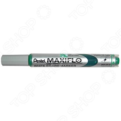 Маркер для досок Pentel MaxifloМаркеры для досок<br>Маркер для досок Pentel Maxiflo канцелярский предмет, необходимый для разметки, маркировки и редактирования. Пригодится школьникам, студентам и офисным работникам. Маркер подходит для досок MAXIFLO.<br>